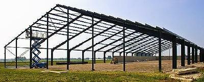 Stahlkonstruktion Stahlhalle Lagerhalle Produktionshalle Gebrauchte Hallen