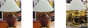 Table Lamps $35 each delivery available 902-210-0835
