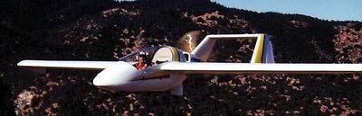 (Aircraft Designs ADI Condor USA Motorglider Aircraft Desktop Wood Model Regular)