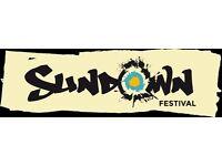 Sundown weekend camping ticket