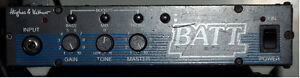 H&K BATT 5w tube bass amp plus /Empty front load ported 2x12