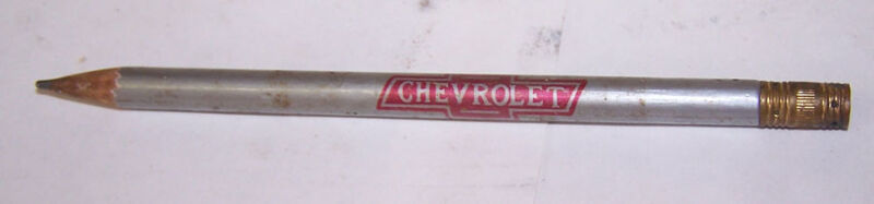 Vintage HOOKEY BROS Chevrolet Pencil ROSEDALE INDIANA