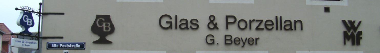 Glas und Porzellan Beyer