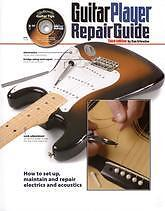 GUITAR PLAYER REPAIR GUIDE Erlewine Book & DVD