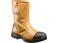 Arco Trojan J56 Safety Rigger Boots C/W Midsole Tan
