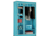 NEW Cotton 100% Wardrobe with Shelves