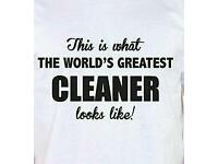 Full Time Cleaning Job Wanted.