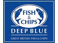 DEEP BLUE FISH & CHIPS SHOP MANAGER