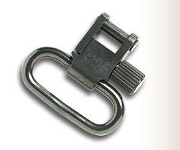 UNCLE MIKES RIFLE QD SLING SWIVELS BLUED  pair of 1  inch