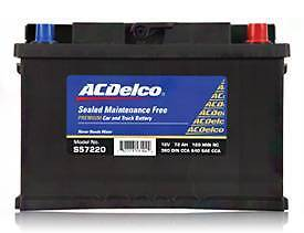 AC Delco S 57220 680cca Car Battery Maintenance Free BRAND NEW Morningside Brisbane South East Preview