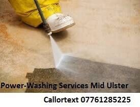 Power washing service Mid Ulster-Magherafelt/Cookstown/maghera/randalstown/toomebridge