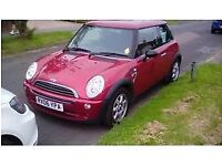 Mini One Seven (limited edition), manual, 1.6L, part service history