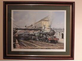 Framed Railway Pictures