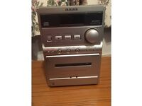 AIWA CD/radio/cassette AIWA CD player/hi-fi with twin speakers (new and unused