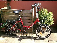 Freego electric folding bike, for male or female, nearly new, hardly used, good condition