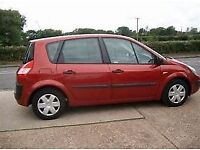 2004 RENAULT SCENIC RUSH VVT 115 BHP. 1 OWNER, NEW CAMBELT. YEARS MOT.