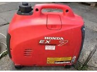 Honda ex7 suitcase generator