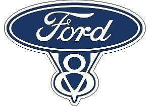 Ford Falcon Car Decal Outline