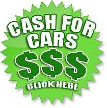 Wanted: Cash for cars and scrap cars from $50-5000
