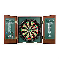 DART BOARD/CASE/AS NEW