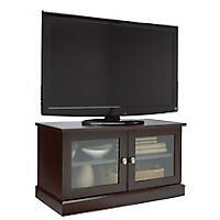Cherry Wood Espresso Solid Wood TV Stand