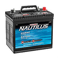 Natulas boat battery and battery case