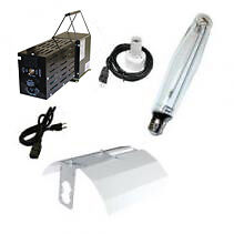 Complete hydroponic grow light kit
