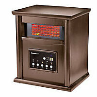 Wood Cabinet Infared Heater -  Portable