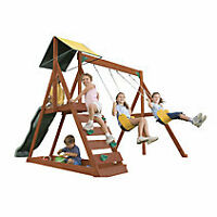 Big Backyard Sunview Wooden Play Centre