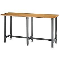 Wood Work Bench. Bench, Shop Table
