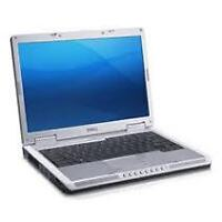 laptop core2duo dell hp  with camera integrated win7 99$