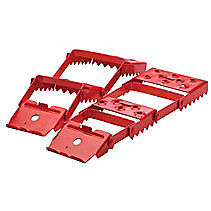 Folding Steel Car Traction Aid in box