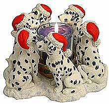 Circle of Dalmations, Dalmation circle candleholder, Dallies Oakville / Halton Region Toronto (GTA) image 2