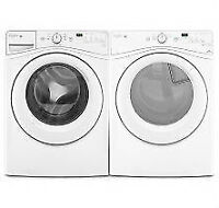 Front Load Washers, Steam Dryer