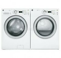 BRAND NEW WASHER 4.2CU DRYER 7CU GE WHITE PAIR