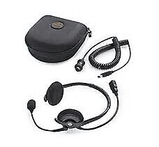 Boom headset for Harley touring