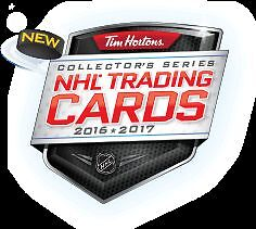 NHL Trading Cards from Tim Hortons