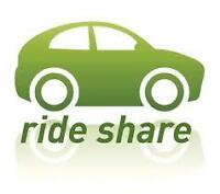 Rideshare to Ottawa on December 14th