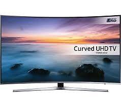 "SAMSUNG UE55KU6670 4K Smart Ultra HD HDR 55"" Curved LED TV"