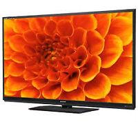 LG Samsung, RCA, Panasonic LED, Plasma or LCD TV's