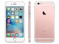 Sim Free IPhone 6S Rose Gold 16GB With Warranty