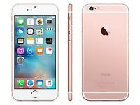 Sim Free IPhone 6S Rose Gold 16GB