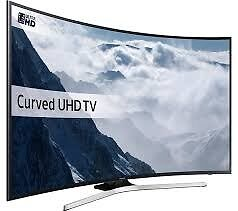 SAMSUNG UE49KU6100 49 inch Curved 4K Ultra HD HDR Smart LED TV Freeview HD