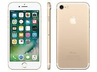 Apple iphone 7 gold 128gb unlocked and in excellent condition