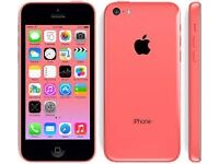 IPHONE 5C PINK ON O2