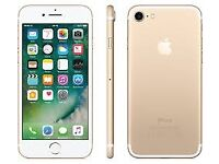 Apple iphone 7 gold 32gb unlocked and in good condition