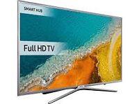 "New Samsung 40"" smart LED apps BBC iplayer Netflix YouTube freeview warranty Bargain"