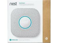 Two Wired 2nd Gen Nest Smoke & Carbon Monoxide Alarms