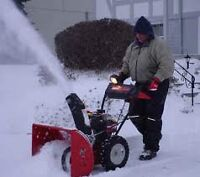SNOW REMOVAL:2 spots available for pay as you go.(Fully-Insured)