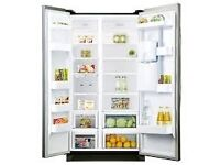 Samsung Fridge Freezer with non-plumbed water dispenser.